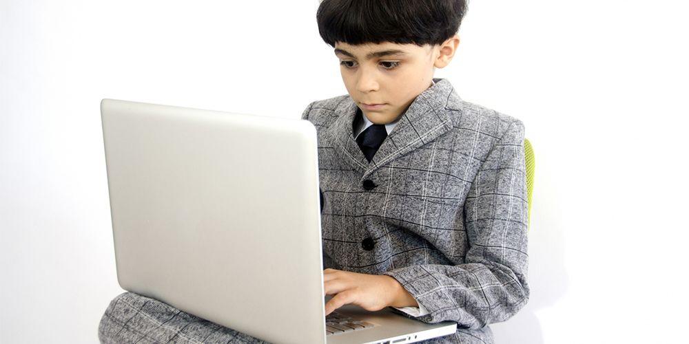 PCを効率よく使いこなす子供