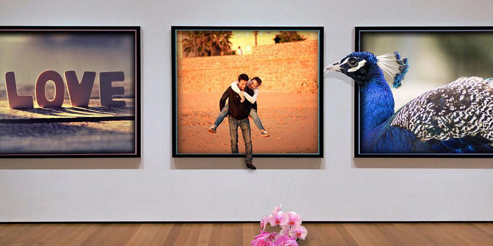 ギャラリーのカップルイメージ