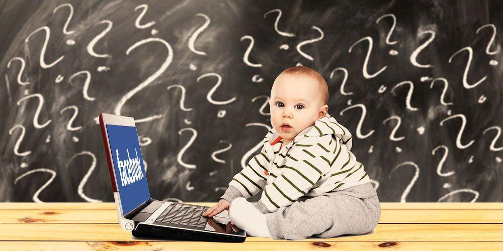 Facebook認証のやり方がわからない赤ちゃん